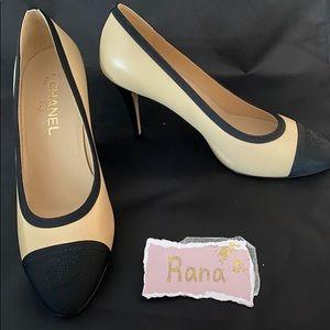 Chanel Agora pumps 39 black heels shoes